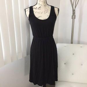 J. Crew Sleeveless Black Knit Dress XS